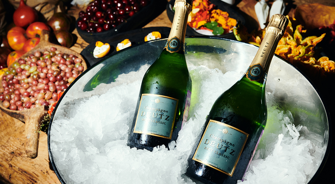 Напиток вечера — наш любимый Deutz