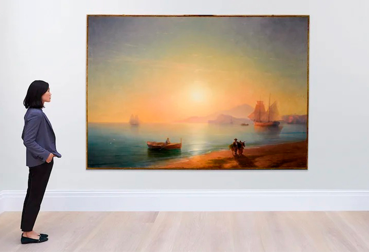 «Неаполитанский залив» Айвазовского продан на Sotheby`s почти за 3 миллиона долларов