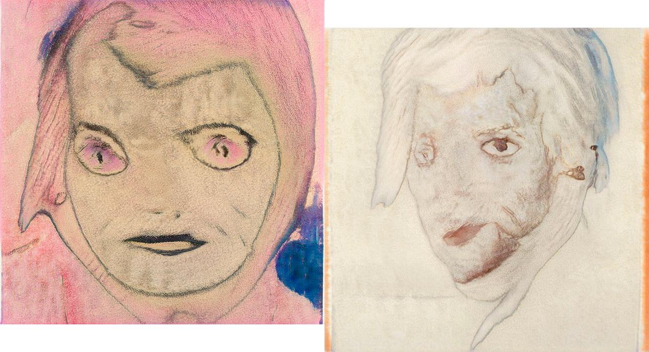 Картины, нарисованные по запросам: «Алиса, нарисуй мой портрет!» и «Алиса, нарисуй свой портрет»
