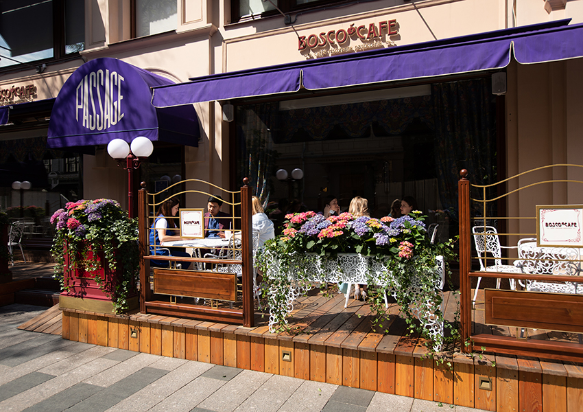 Bosco Café в ГУМе и Петровском Пассаже вновь открываются