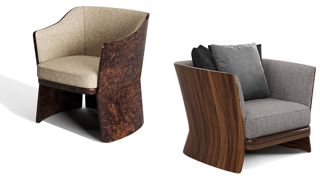 Новая коллекция мебели Newent: роскошь Bentley в интерьере