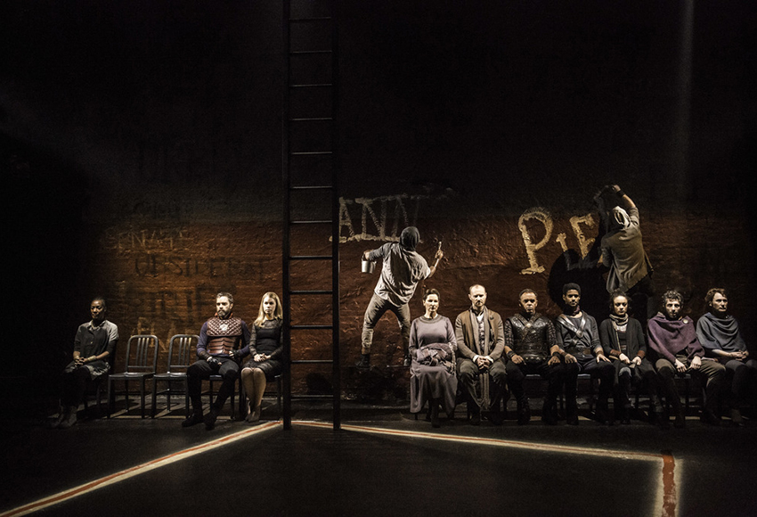 Спектакль «Кориолан» на платформе TheatreHD