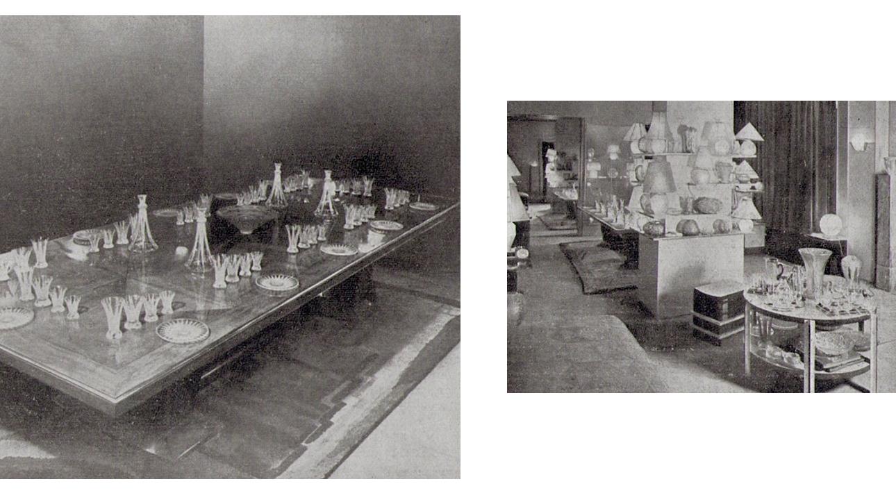 Коллекция французского стекла 1930-х годов