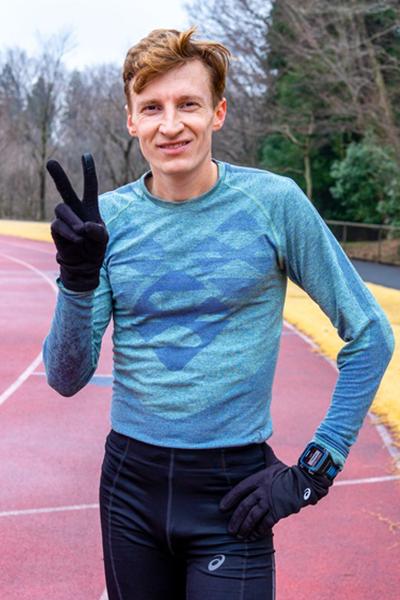 Степан Киселев, амбассадор ASICS, чемпион России по марафону