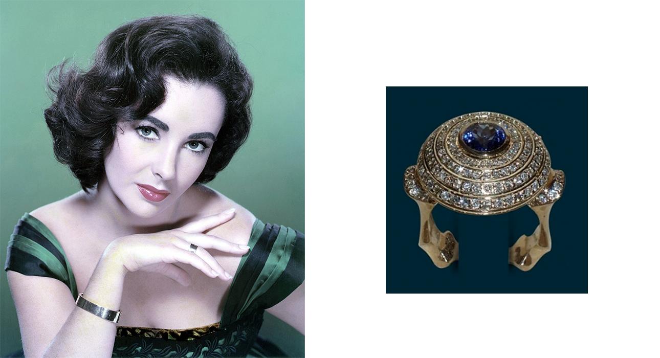 Моду на танзаниты ввели Tiffany & Co и легендарная Элизабет Тейлор