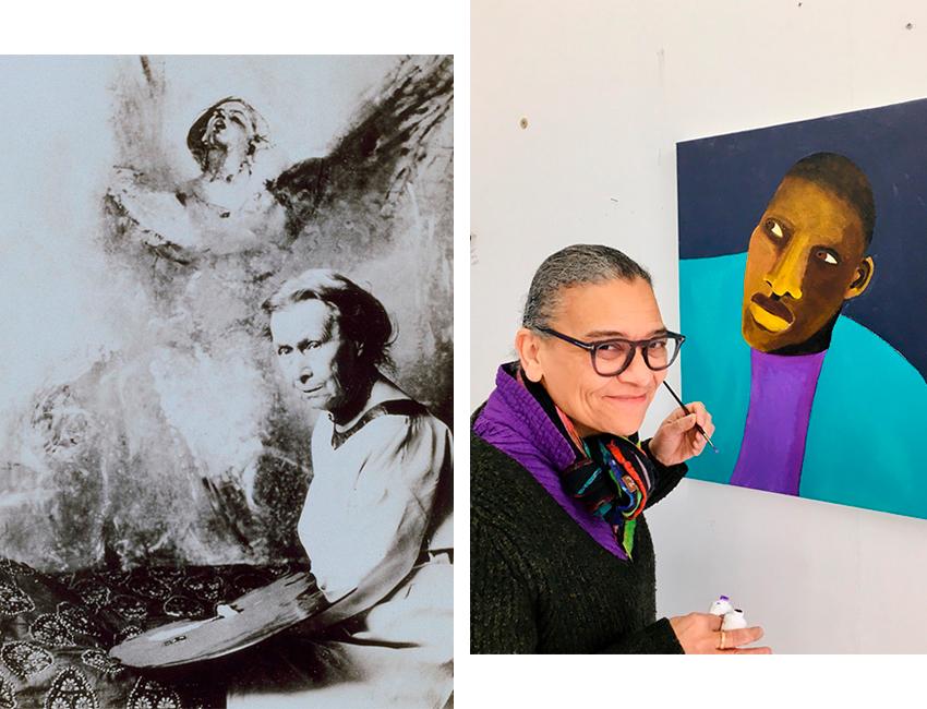 Анни Свиннертон, 1931, фотограф неизвестен Любайна Химид в своей студии, 2020