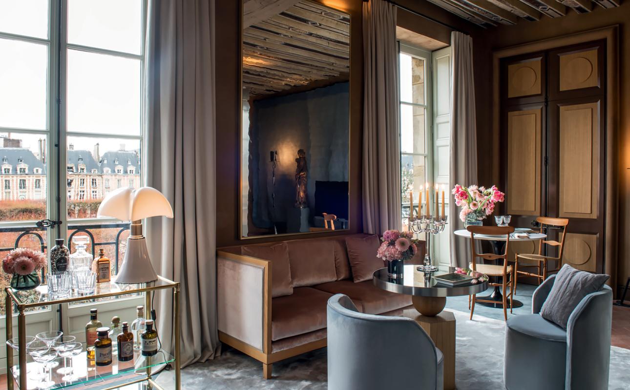 Путешествия после пандемии: отель Cour des Vosges в Париже — всего 12 номеров