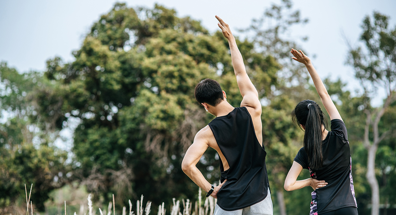 #PostaЭксперты: тренировки на свежем воздухе вместе с Encore Fitness