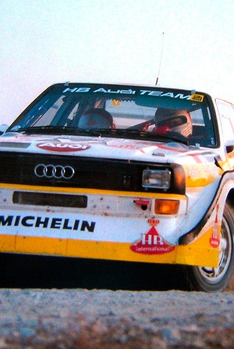 Авто с Яном Коомансом: четыре десятилетия Audi Quattro