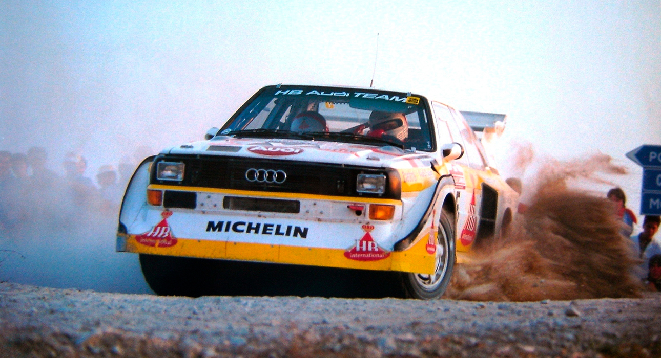 Cars With Jan Coomans Four Decades Of Audi Quattro Posta Magazine