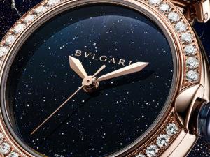 Часы & Караты: новые часы с авантюрином LVCEA Bvlgari