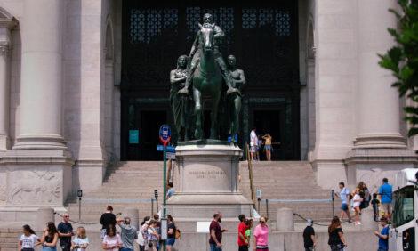 Американский музей естественной истории демонтирует статую Теодора Рузвельта