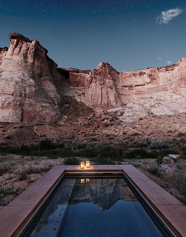 Открылся отель Camp Sarika в сердце американской пустыни: «палаточный лагерь» в стиле люкс