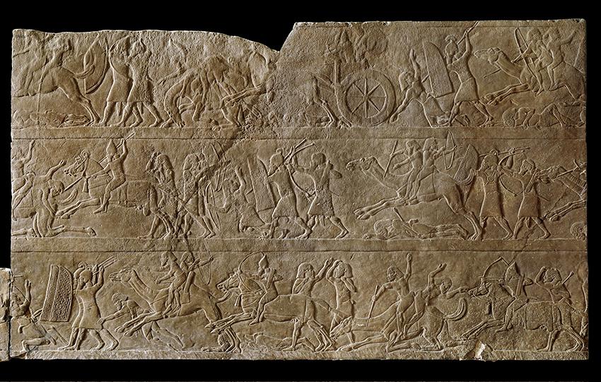 Выставка искусства древней Ассирии в Государственном Эрмитаже