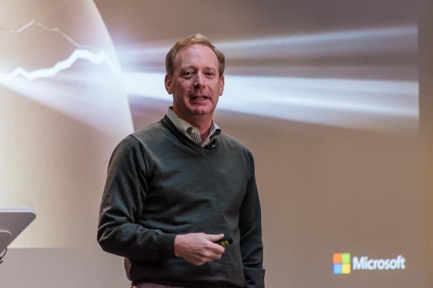 Брэд Смит, президент компании Microsoft