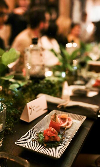Летний ужин ROKU в честь открытия ресторана Lotus Room на Патриарших