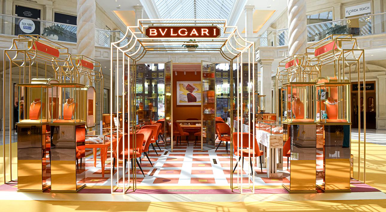 Открытие нового pop-up бутика BVLGARI в «Крокус Сити Молле»