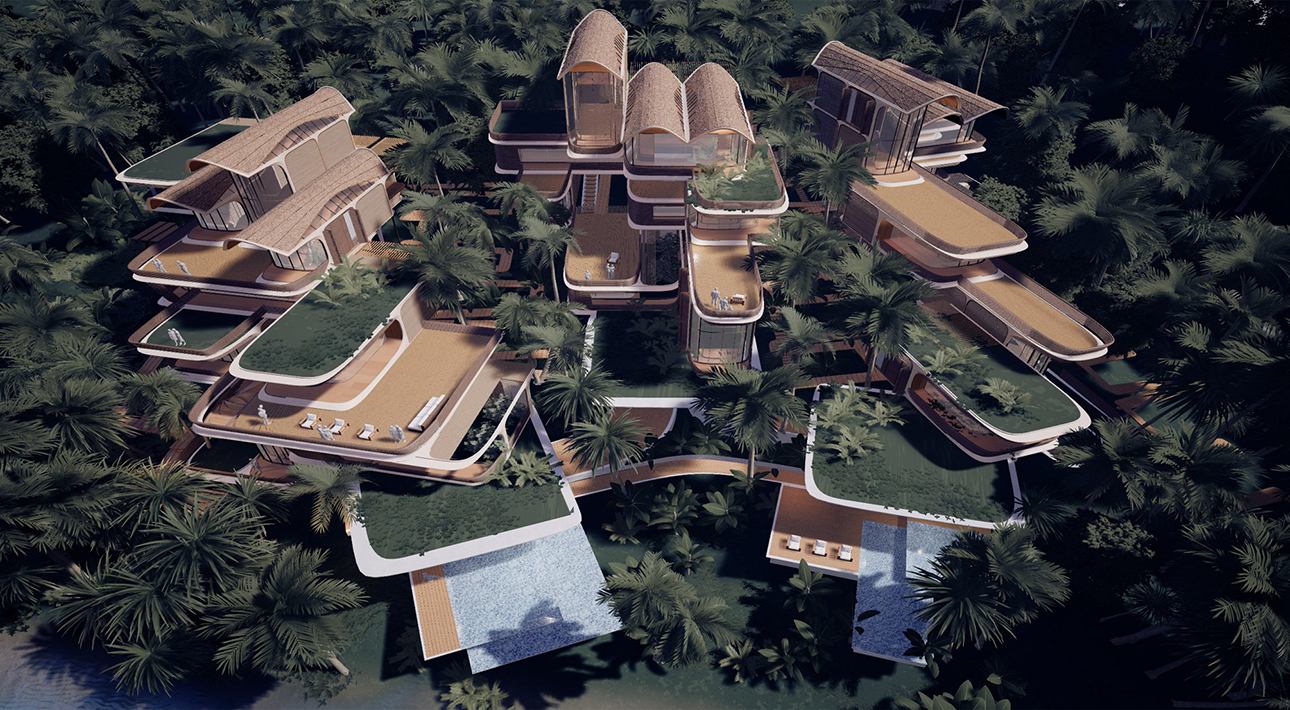 Бюро Захи Хадид представило проект нового жилого комплекса в Гондурасе