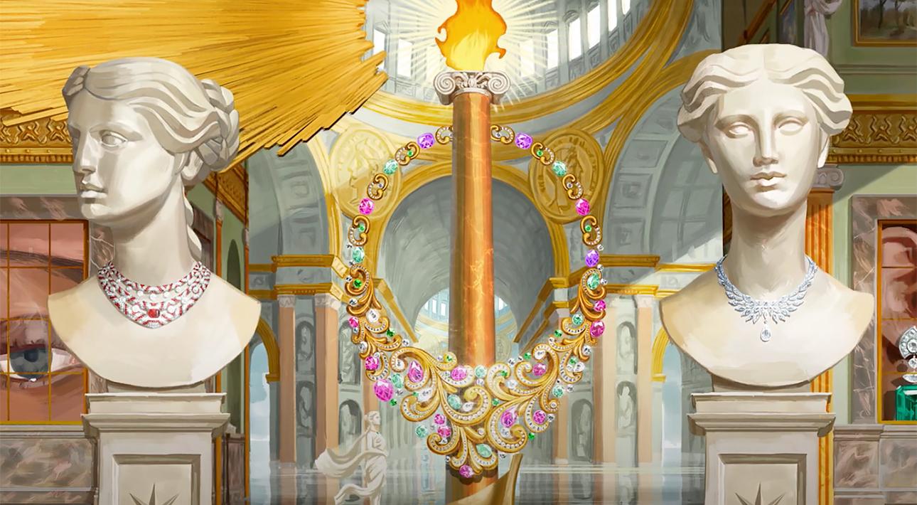 Часы & Караты. Драгоценная феерия Barocko: новая коллекция Bvlgari воспевает бессмертную красоту Рима