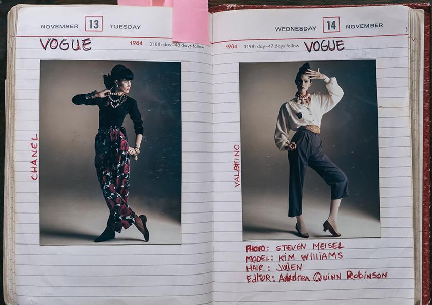 Музей макияжа впервые показал дневники легендарного визажиста Кевина Окуэна — и они полны сюрпризов