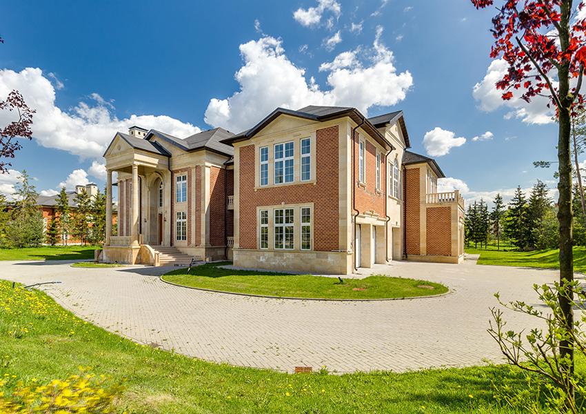 Agalarov Estate. Резиденция в современном классическом стиле