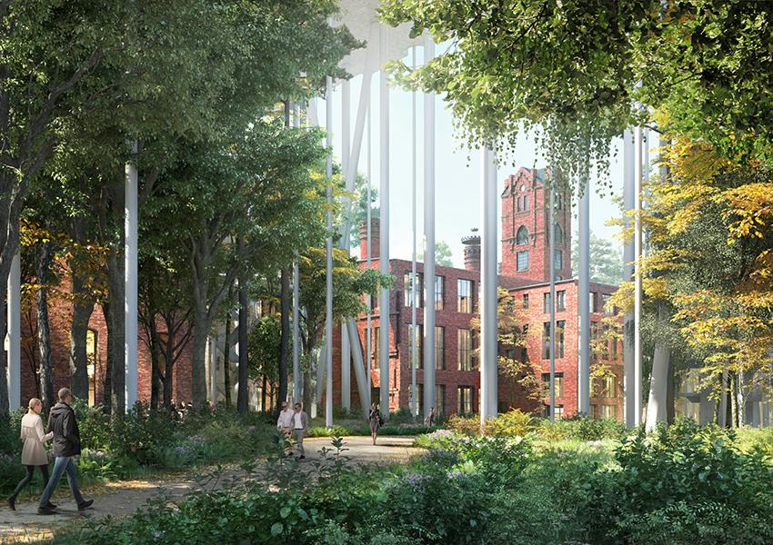 «Парящий дом» построят на территории Бадаевского завода