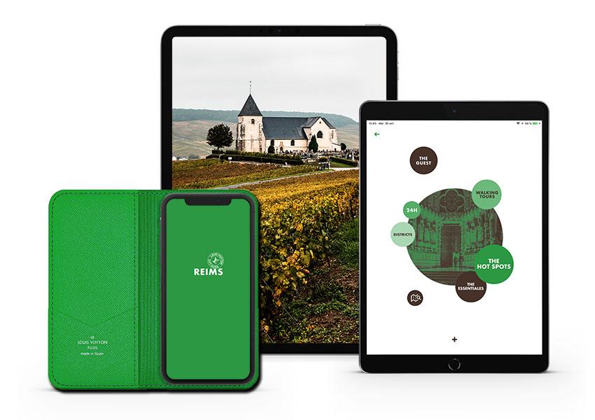 Дом Louis Vuitton и Moet Hennessy представили путеводитель по Реймсу и региону Шампань