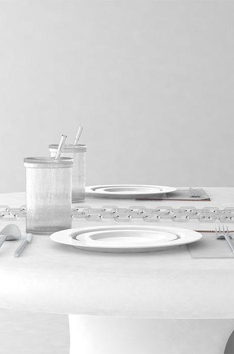 Основатель Off-White Вирджил Абло создал коллекцию предметов для дома совместно с Baccarat