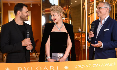 Открытие нового pop-up-бутика BVLGARI в «Крокус Сити Молле»