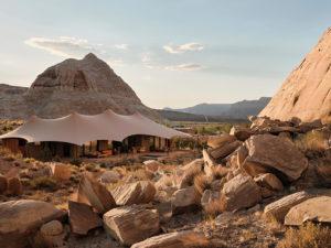 Camp Sarika в сердце американской пустыни: «палаточный лагерь» в стиле люкс