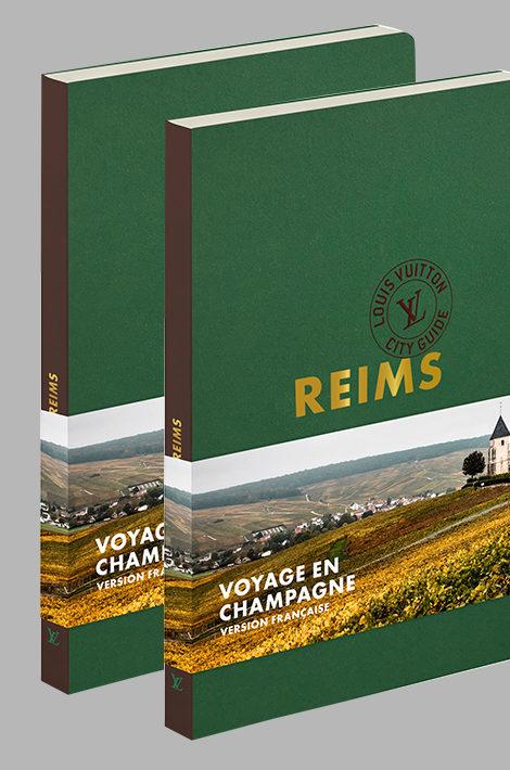 Дом Louis Vuitton и Moët Hennessy представили путеводитель по Реймсу и региону Шампань