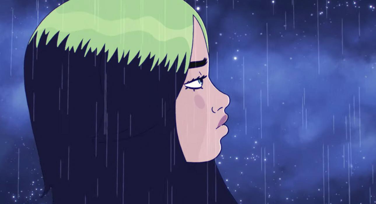 Вышел новый клип Билли Айлиш на песню My Future — он сделан в жанре анимации