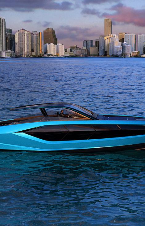 Катера & Яхты. На Lamborghini — по морским просторам: итальянский бренд представил новую моторную яхту