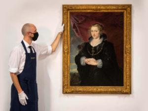 Вновь найденная картина Рубенса может уйти с молотка за 3,5 миллиона фунтов