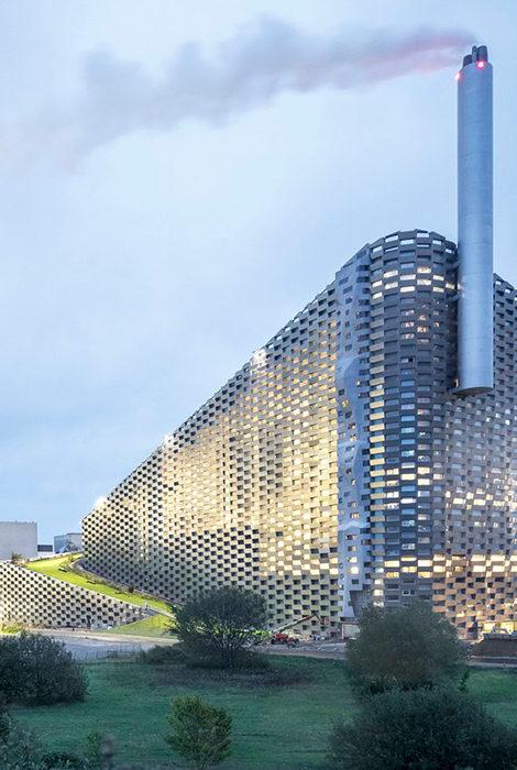 В Копенгагене появится самый высокий скалодром в мире — на стене мусоросжигательного завода