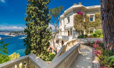 На Лазурном берегу продается вилла Шона Коннери — и это настоящий дом мечты в стиле Belle Époque