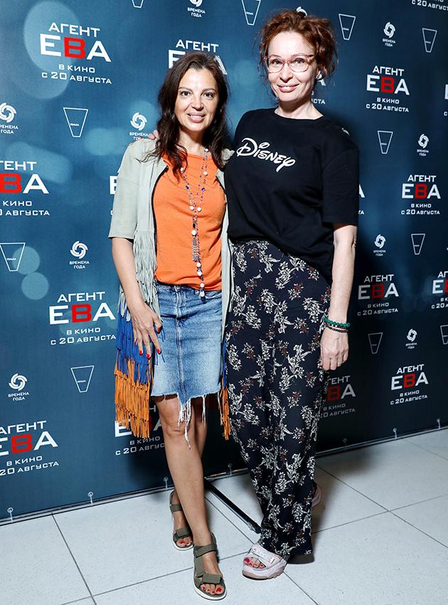 Алиса Толкачева и Евгения Попова