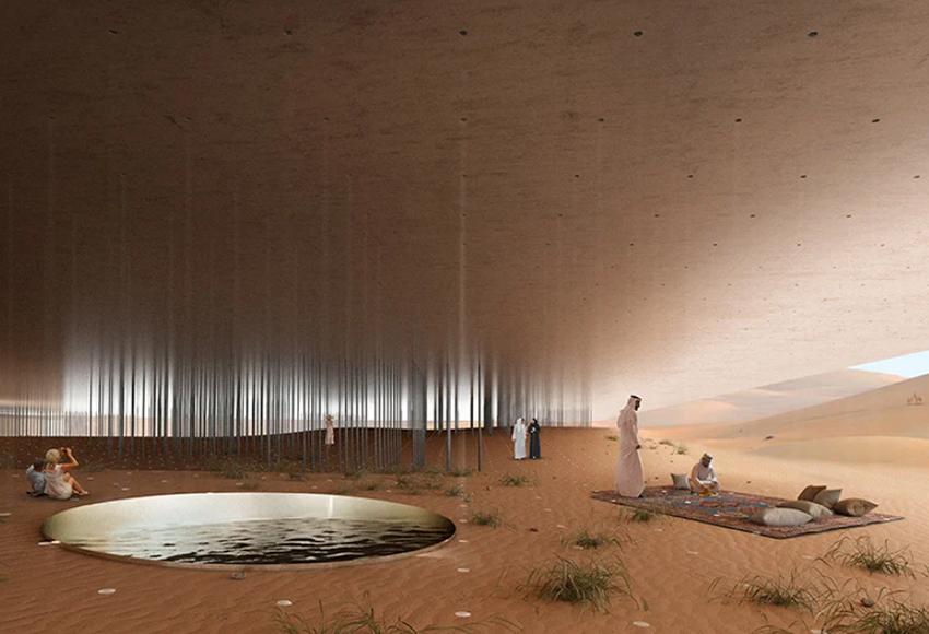В конкурсе эколоджей для наблюдения за фауной пустыни в Абу-Даби победил итальянский проект
