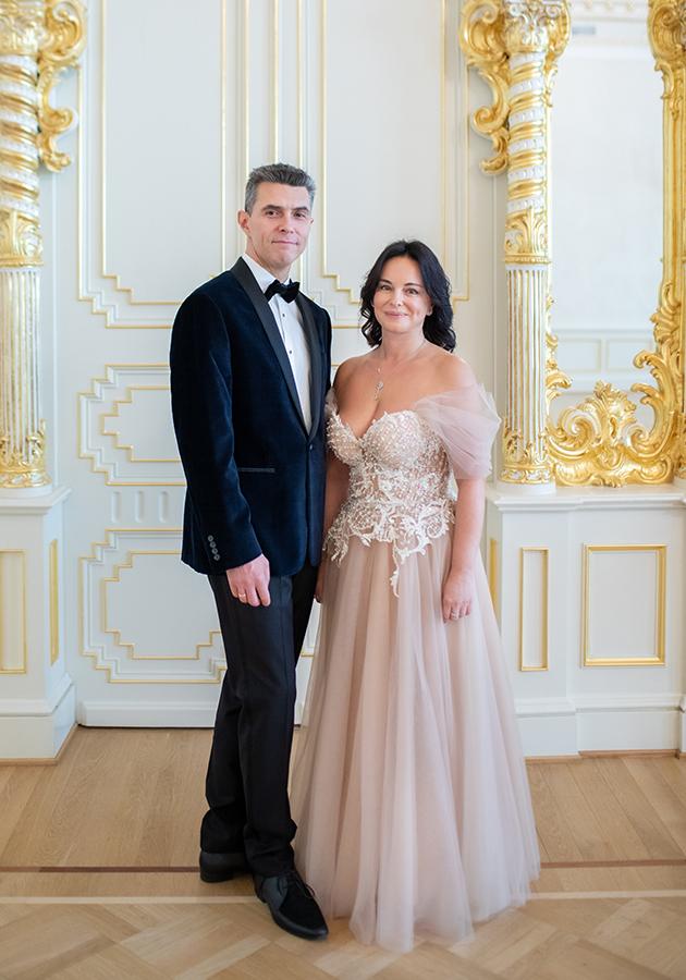 Екатерина и Денис Агаповы