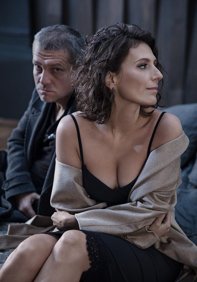 Алексей Чупов и Наташа Меркулова