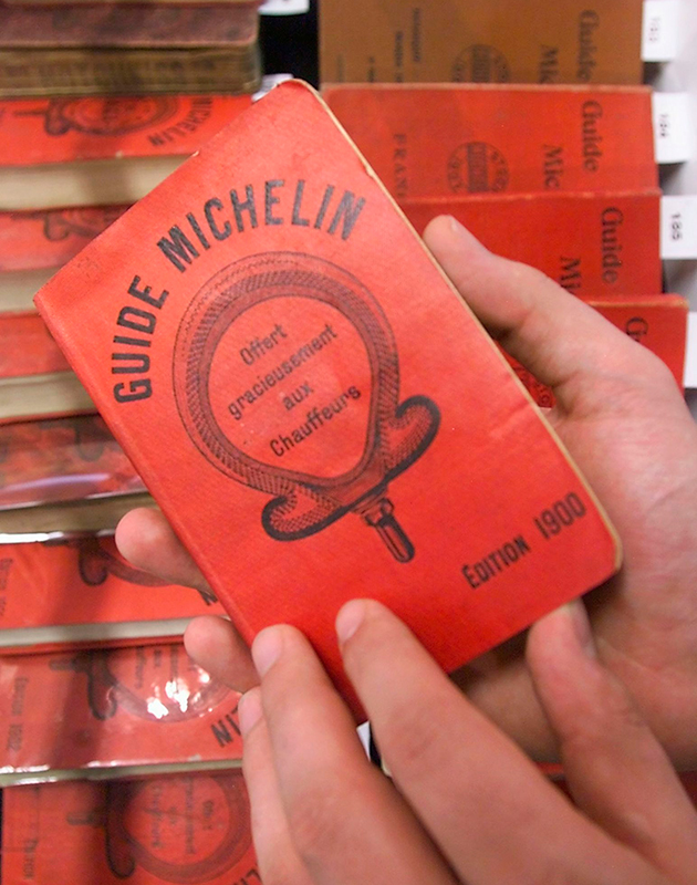Как устроен гид Michelin
