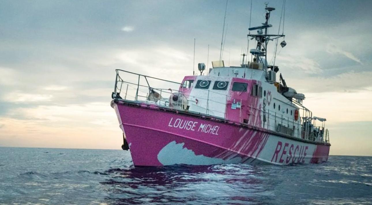 Бэнкси оплатил корабль для мигрантов, бежавших из Северной Африки в Европу