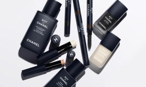Линейка мужского макияжа Chanel пополнилась лаком для ногтей и другими новинками