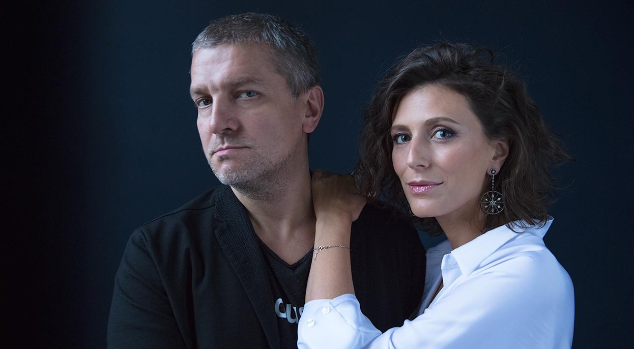Наташа Меркулова и Алексей Чупов