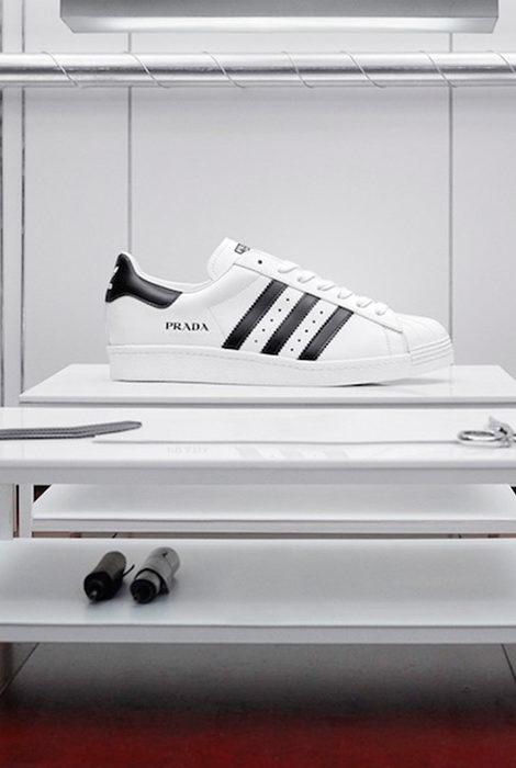 Три цвета: Prada и adidas представили новые варианты своей коллаборации