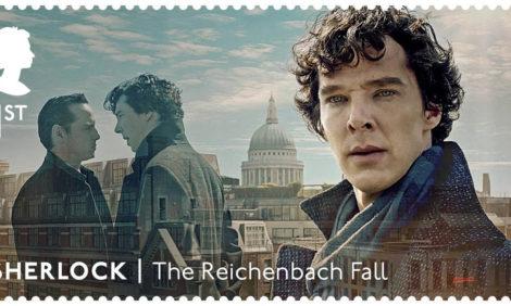 Почтовые марки с персонажами сериала «Шерлок» — и с секретом — скоро появятся в Великобритании