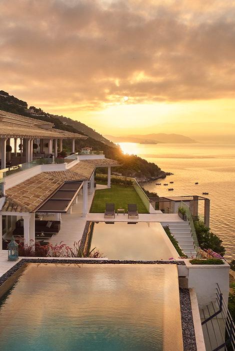 Новый отель: вилла Ultima Corfu на берегу Ионического моря