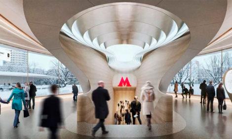 Архитектурное бюро Захи Хадид спроектирует дизайн московской станции метро