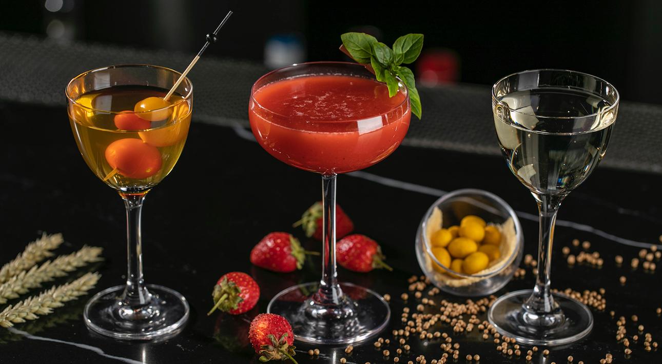 Mercedes Bar: авторские коктейли