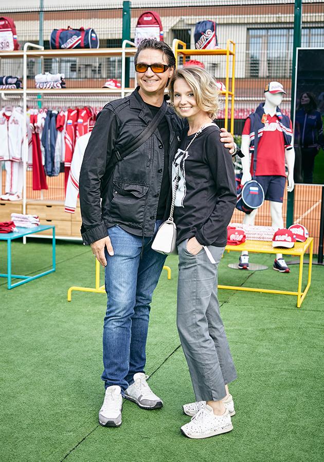 Сергей и Мария Филины